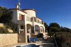 Villa Shangri-La from the pool